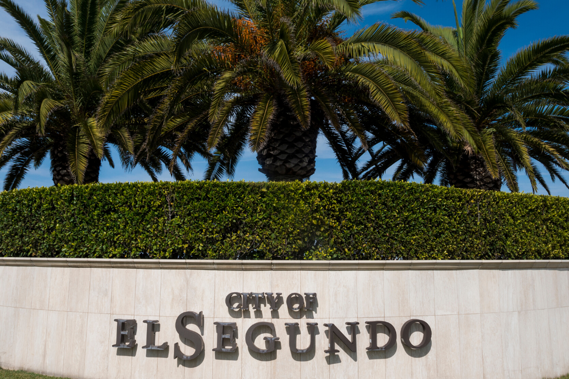 City of El Segundo Sign
