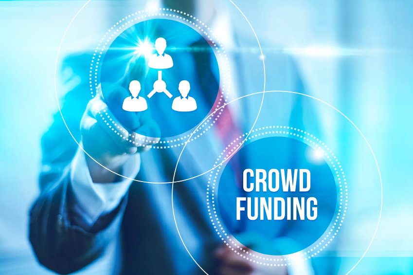 Crowd Funding for Commercial Real Estate Investing Graphic